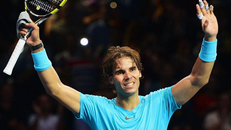 Rafa Nadal: An impressive first appearance at the O2 Arena this year