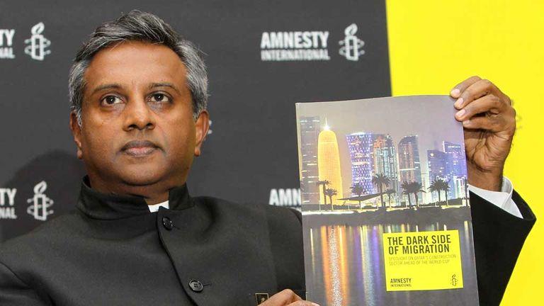 Salil Shetty: Amnesty International's secretary general