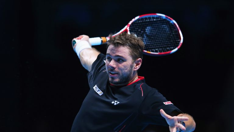 Swiss rolling: Wawrinka won debut match at ATP World Tour Finals