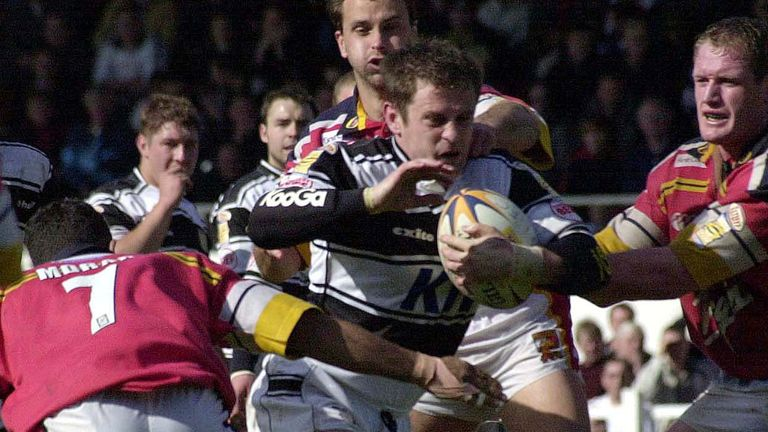 Steve Prescott: Honoured by St Helens