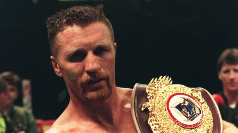Steve Collins: Would relish a fight against Roy Jones Jr or Joe Calzaghe