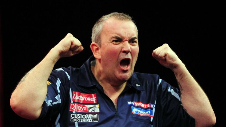 Phil Taylor: First title with new darts