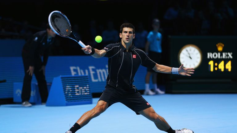 Novak Djokovic: Is feeling confident