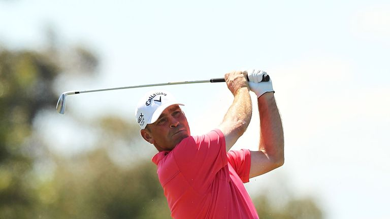 Thomas Bjorn: One shot clear of Melbourne rivals