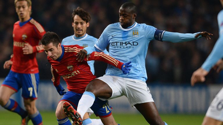 Yaya Toure: Manchester City midfielder happy to reach last 16