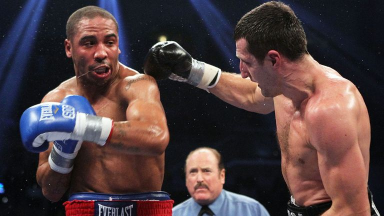 Andre Ward inflicted one of the two defeats on Carl Froch's record