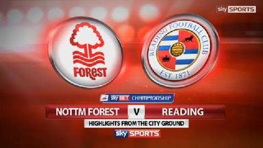 Nottm Forest 2-3 Reading