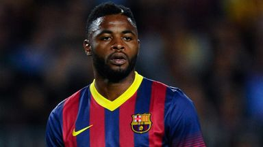 Alex Song: Has no intention of leaving Barcelona any time soon