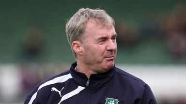 John Sheridan: Fumes at Plymouth display