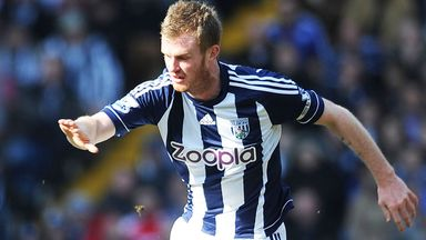 Chris Brunt: Scored on his return from injury