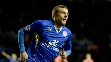 Jamie Vardy: Delighted with his Leicester form