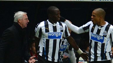 Moussa Sissoko: Newcastle midfielder congratulated after winning goal against West Brom
