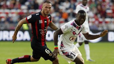Didier Digard (l): Could be set to leave Nice