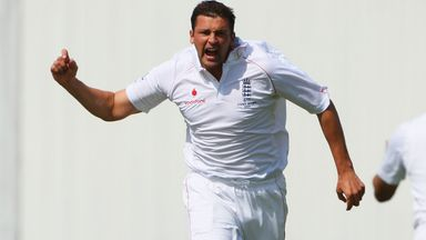 Steve Harmison during his England days