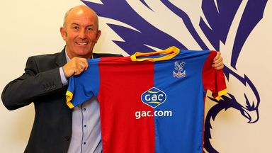 Pulis: new Palace boss aims to steer club to Premier League survival