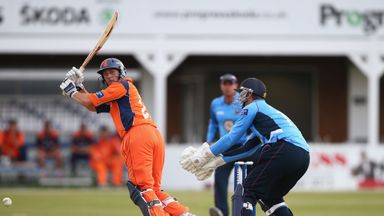 Wesley Barresi: Netherlands batsman dominated run chase
