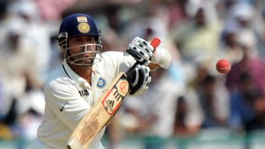 Sachin Tendulkar: Scored 74 on his final Test appearance