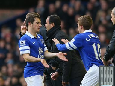 Leighton Baines: Out of action with toe injury