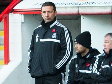 Derek McInnes: Preparing for the Scottish League Cup final