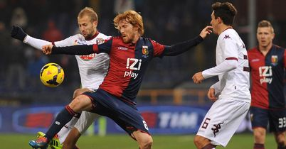 Biondini rescues point for Genoa