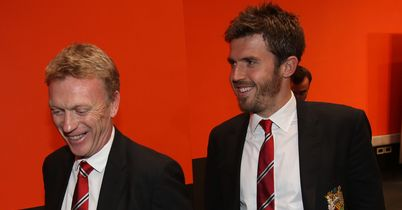 David Moyes: Hailed Michael Carrick as an 'exceptional man'