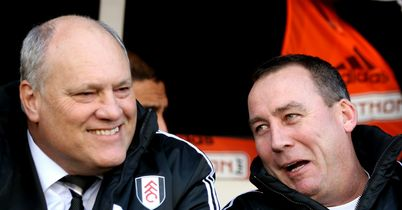 Martin Jol and Rene Meulensteen: Situation at Fulham seemed inevitable