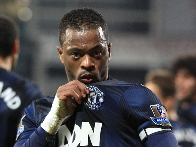 Patrice Evra: Scored Man United's second goal
