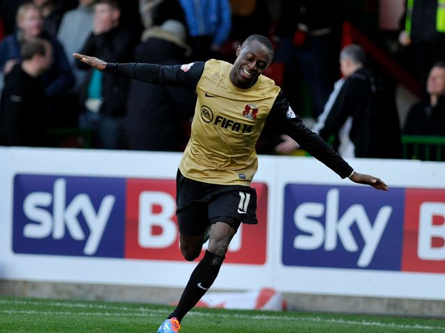 Moses Odubajo: Opened the scoring for Orient