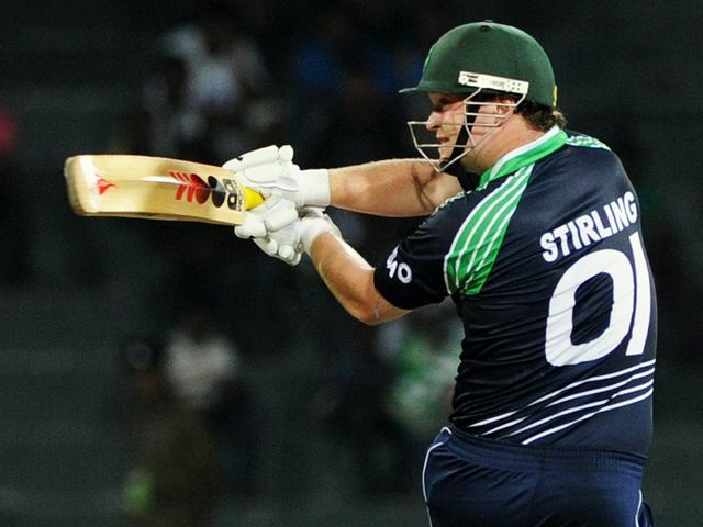 Paul Stirling: Hit 60 off 34 balls for Ireland