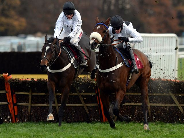 Rolling Star (left): Set to carry top weight at Newbury
