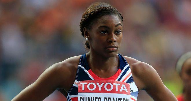 Perri Shakes-Drayton: British athlete rehabbing serious knee injury