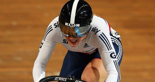 Victoria Williamson won bronze in the team sprint alongside Danielle Khan