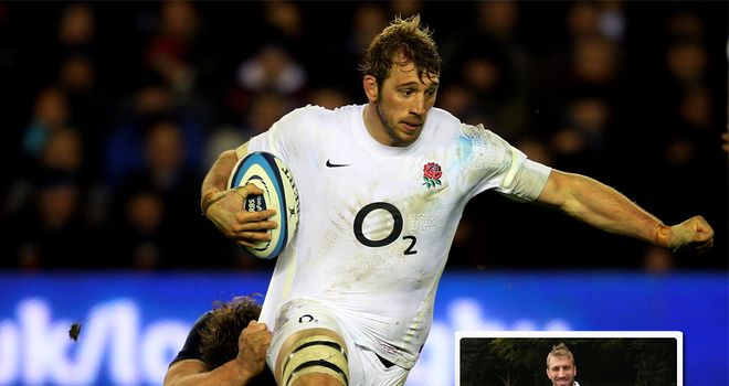 Robshaw: can he lead England to three autumn wins?