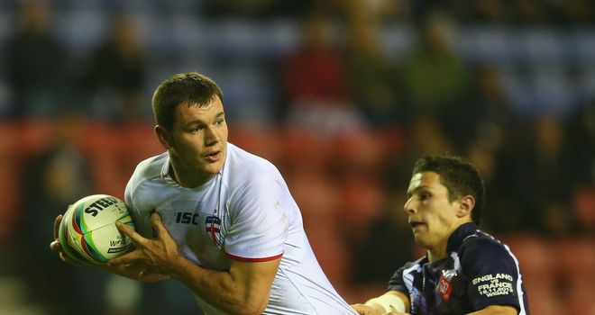 Brett Ferres: Is hoping to feature in Saturday's Rugby League World Cup semi-final against New Zealand