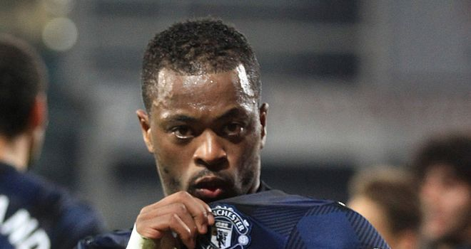 Patrice Evra: Is out of contract this summer