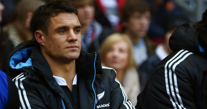 Dan Carter has been struggling with persistent injuries