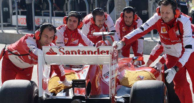 Ferrari want 'heavy metal' noise