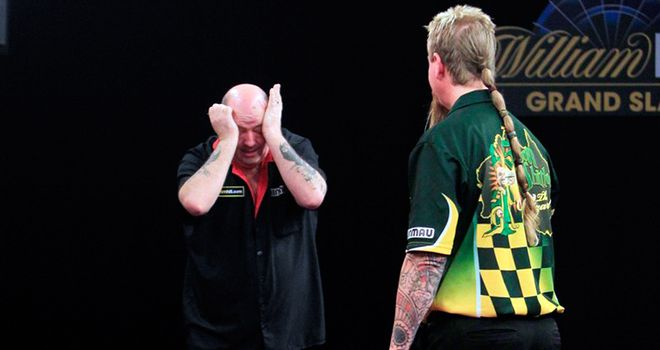 Ted Hankey storms into last eight