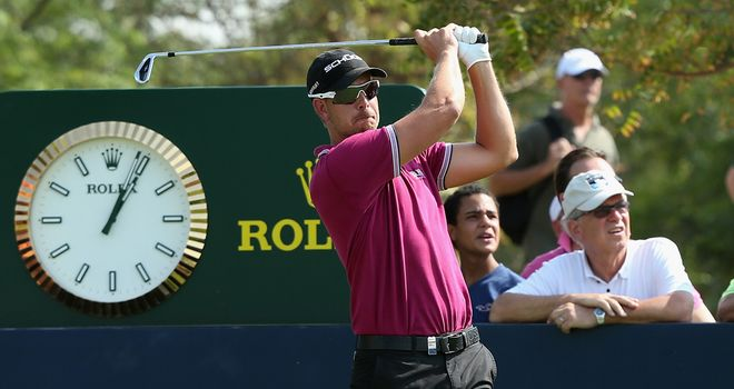 Henrik Stenson: In imperious form so far