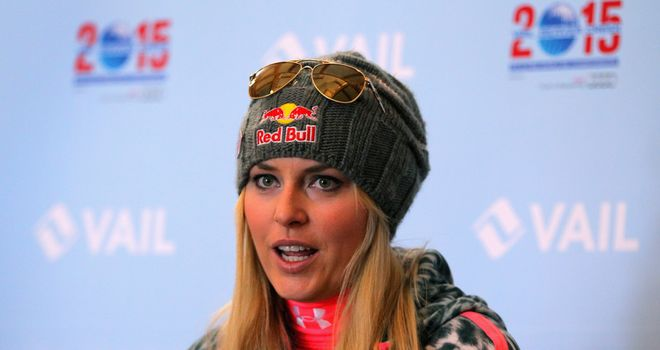Lindsey Vonn: Forced to miss the Games