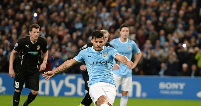 Sergio Aguero: Opened the scoring
