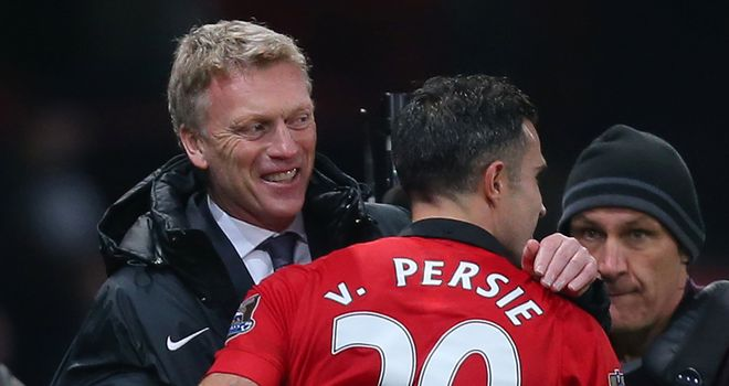 David Moyes: Insists Robin van Persie is staying at Old Trafford