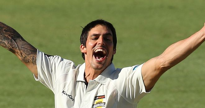 Mitchell Johnson will be rested this week