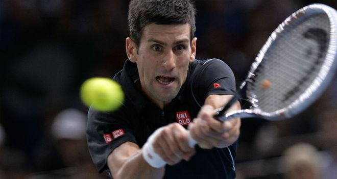Novak Djokovic: Defeated Roger Federer to reach the Paris Masters final