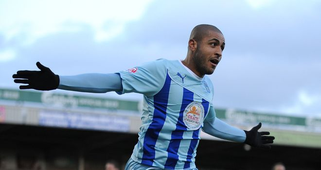 Leon Clarke: At the double for Coventry