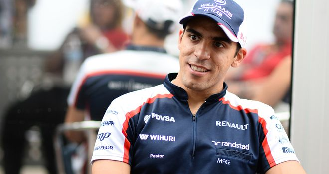 Pastor Maldonado: Has been backed by PDVSA throughout his career