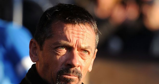 Phil Brown: Casting his eye on trialists