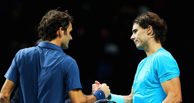 Rafael Nadal and Roger Federer: The pair are set to meet again
