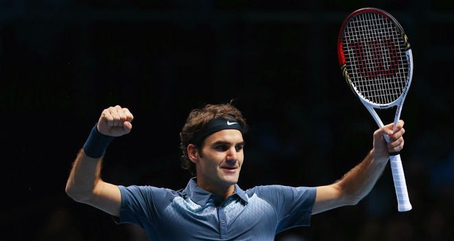 Roger Federer: Posted a battling win