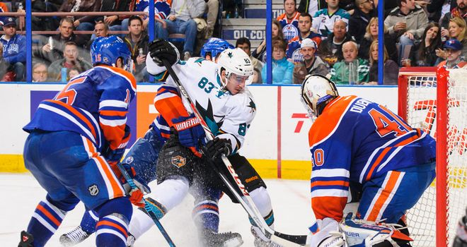 San Jose Sharks beat Edmonton 3-1 to stretch their winning streak to three games
